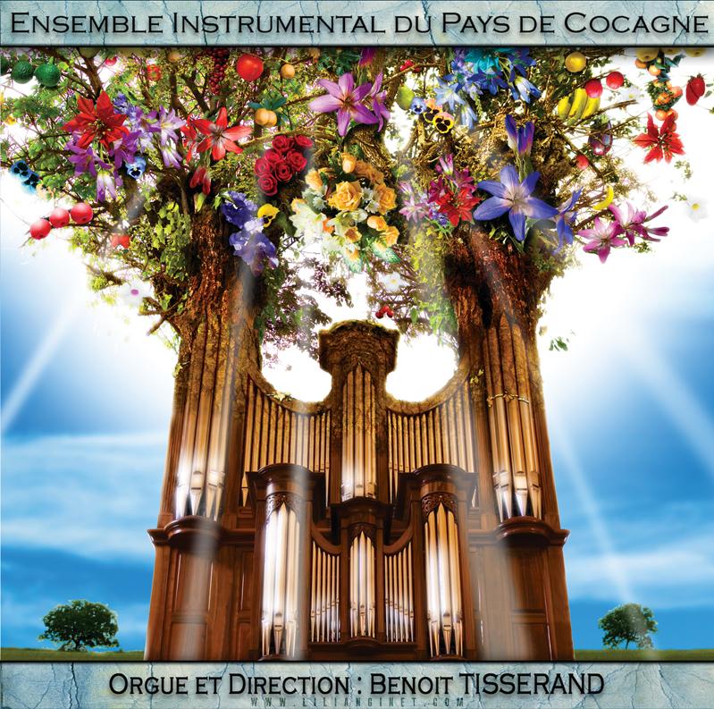 """ENSEMBLE INSTRUMENTAL DU PAYS DE COCAGNE : """"Orgue & Orchestre"""", Couverture"""