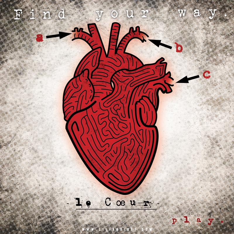 """Single """"Le Coeur"""", Couverture"""