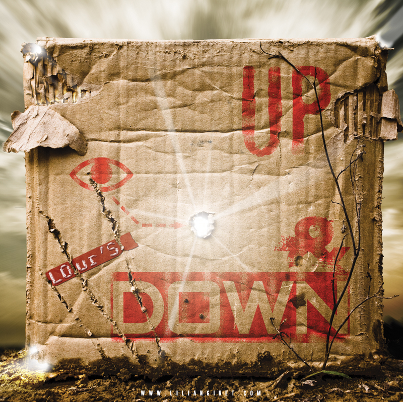 "LOUR'S : Album ""Up & Down"", Couverture"