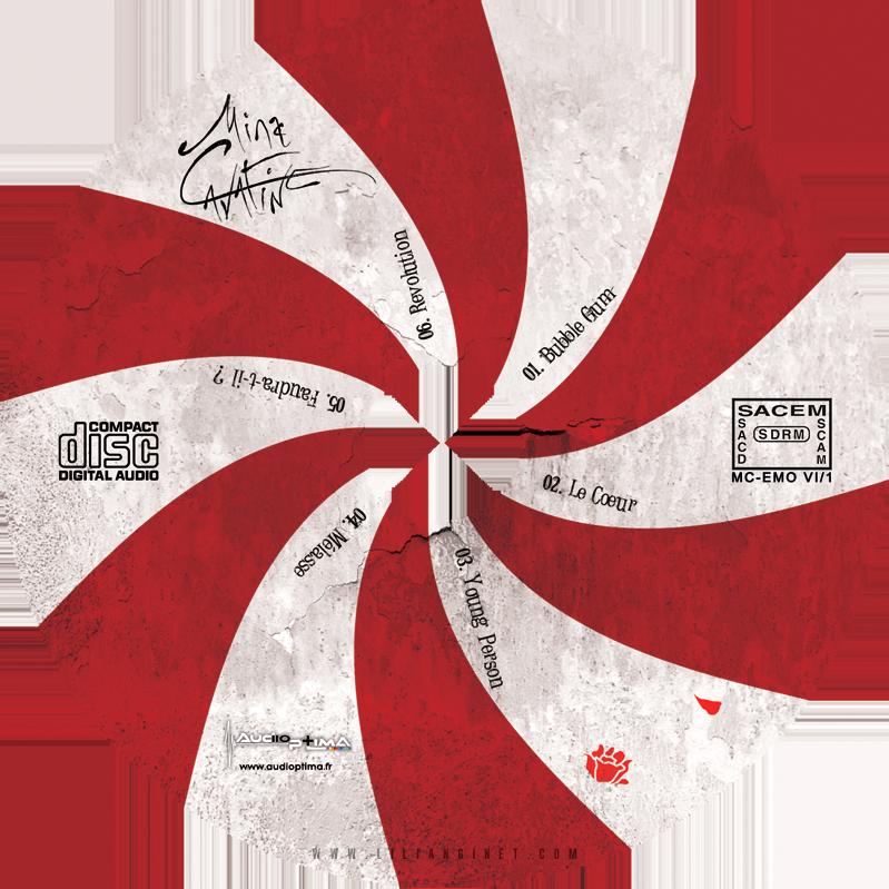 "MINA CAVATINE, EP ""Emotions VI"", Rond CD"