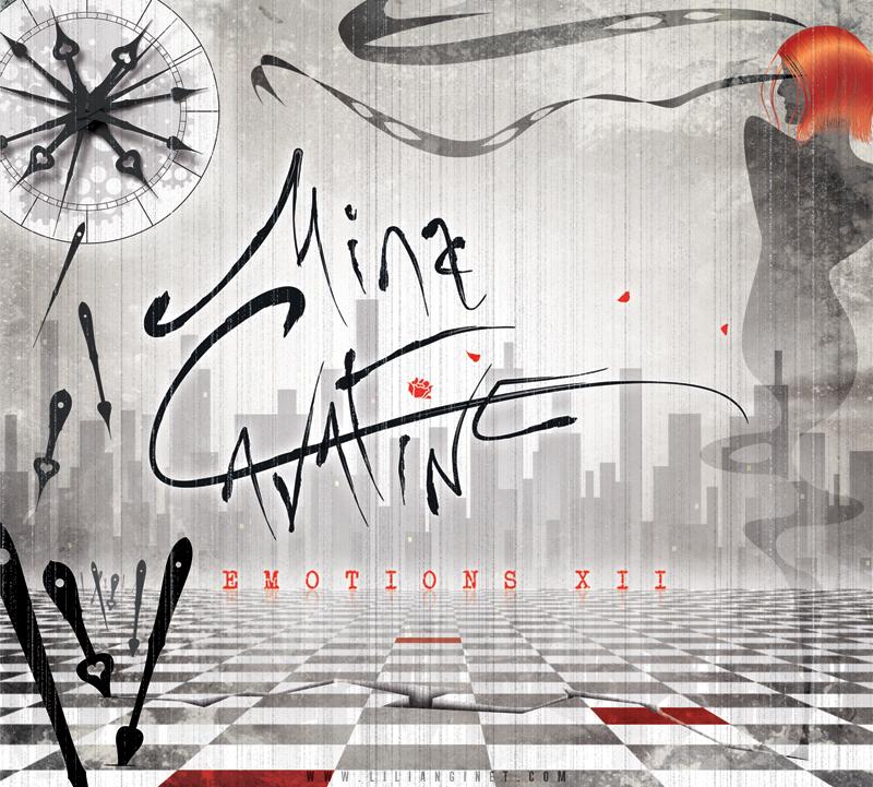 "MINA CAVATINE : ""Emotions XII"", Couverture"