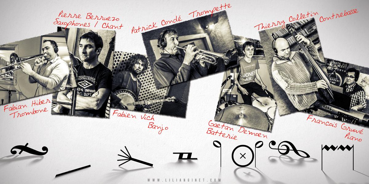 "MEMORY JAZZ BAND : Album ""Under The Sunny Side of New Orleans"", Livret Intérieur"