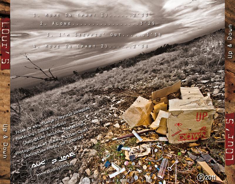"""LOUR'S : Album """"Up & Down"""", Arrière"""