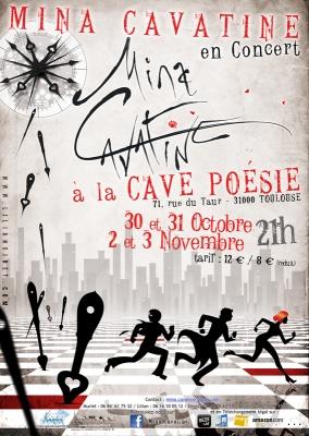 MINA CAVATINE Concert Cave Poésie