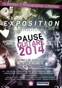 Exposition Photo PAUSE GUITARE 2014