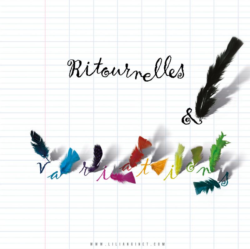 """ÉCOLES DU TARN : Album """"Ritournelles & Variations"""", Couverture"""