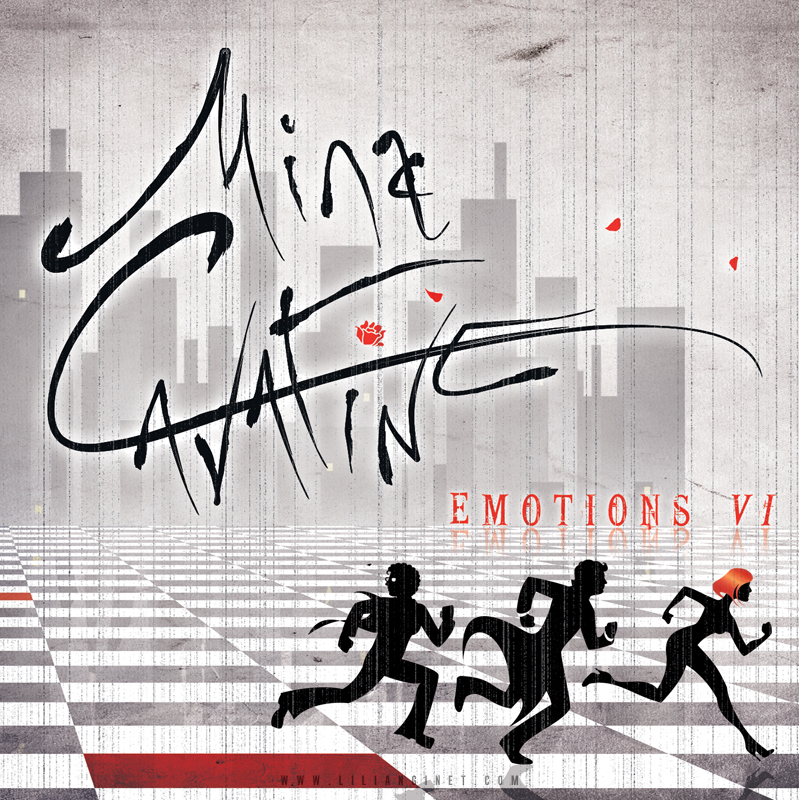 "MINA CAVATINE : EP ""Emotions VI"", Couverture"