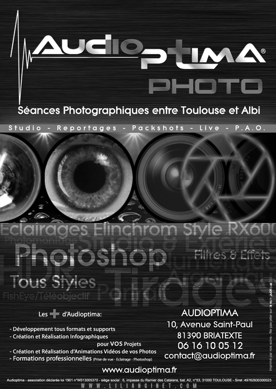 AUDIOPTIMA : Flyer Photo A6